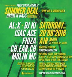 SUMMER DEAL – FRESH LIQUID NIGHTS #3 – 20.08.2016