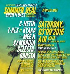 SPECIAL SUMMER DEAL – FRESH LIQUID NIGHTS – 03.09.2016